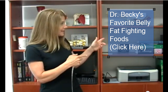 Dr. Becky's Favorite Belly Fat Fighting Foods