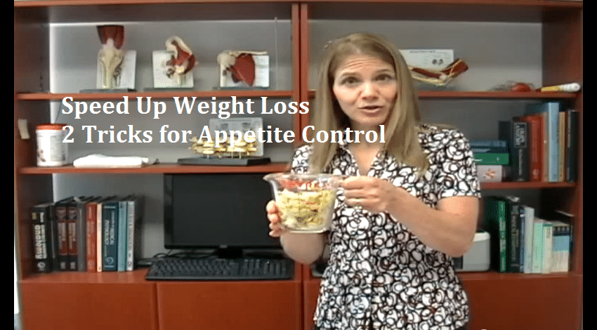 Faster Weight Loss With Two Appetite Control Tricks