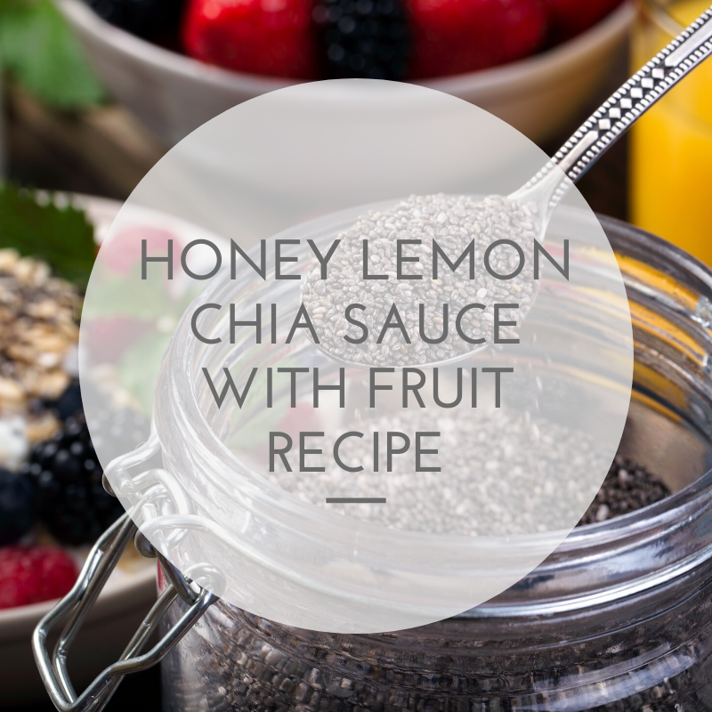 Chia Seeds Recipe – Weight Loss Snack