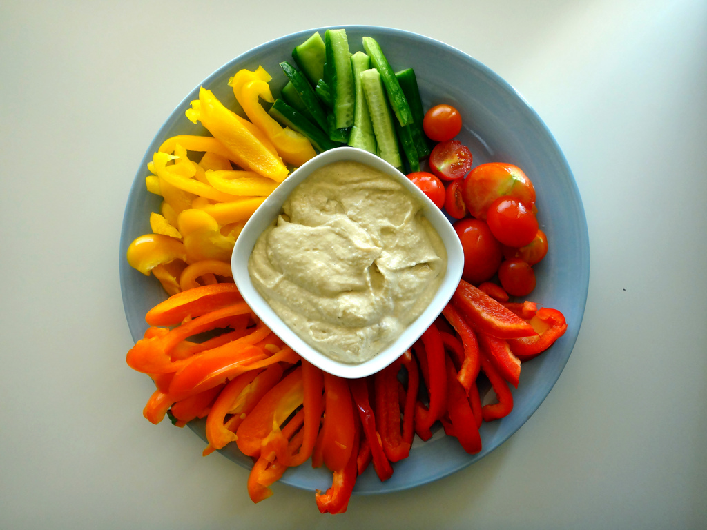 Hummus with Herbs
