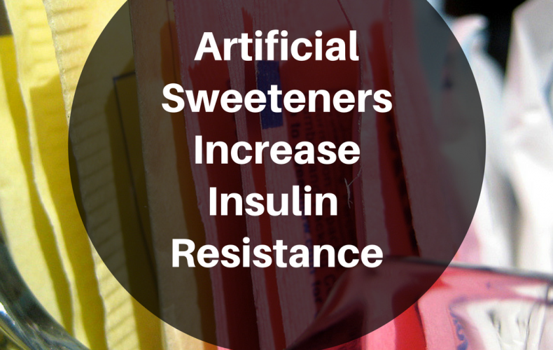 Artificial Sweeteners Increase Insulin Resistance – Making It Hard to Lose Weight