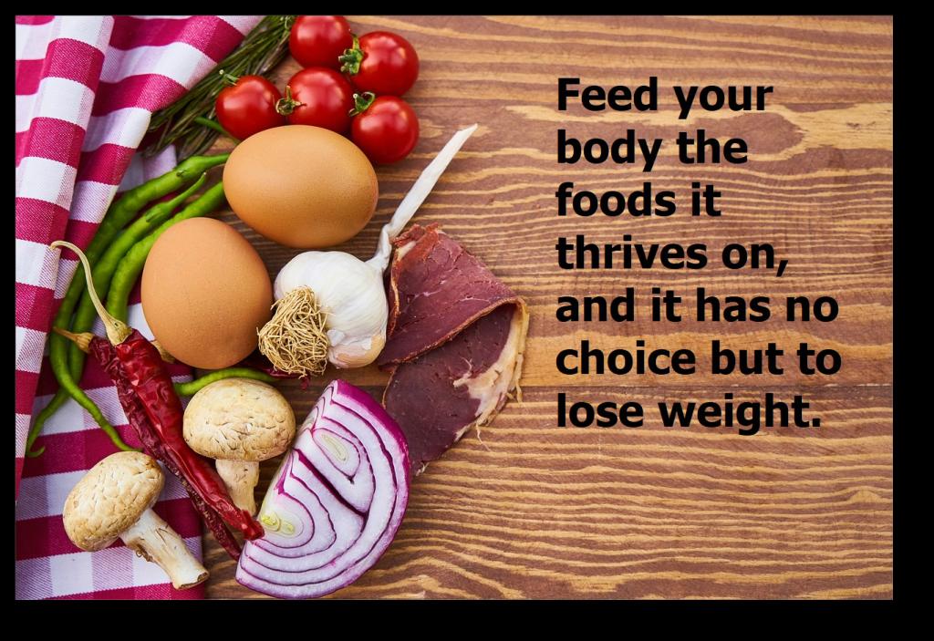 burn body fat feed your body