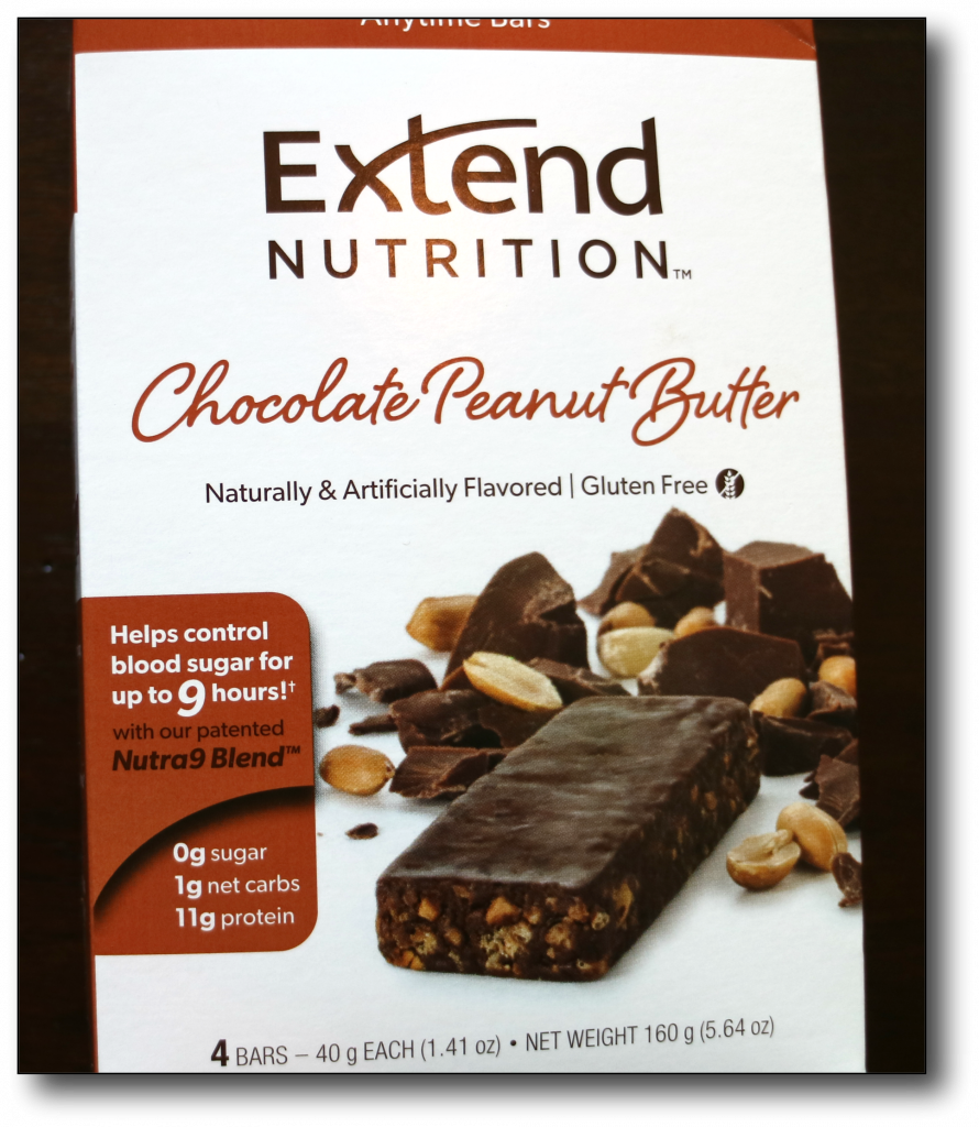 count net carbs - extend bar 1