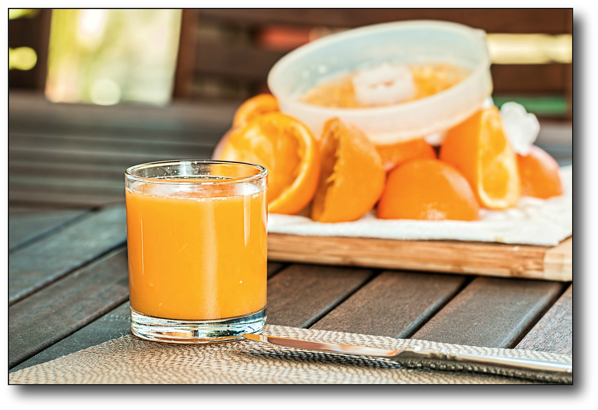 fruit juice concentrate - orange juice