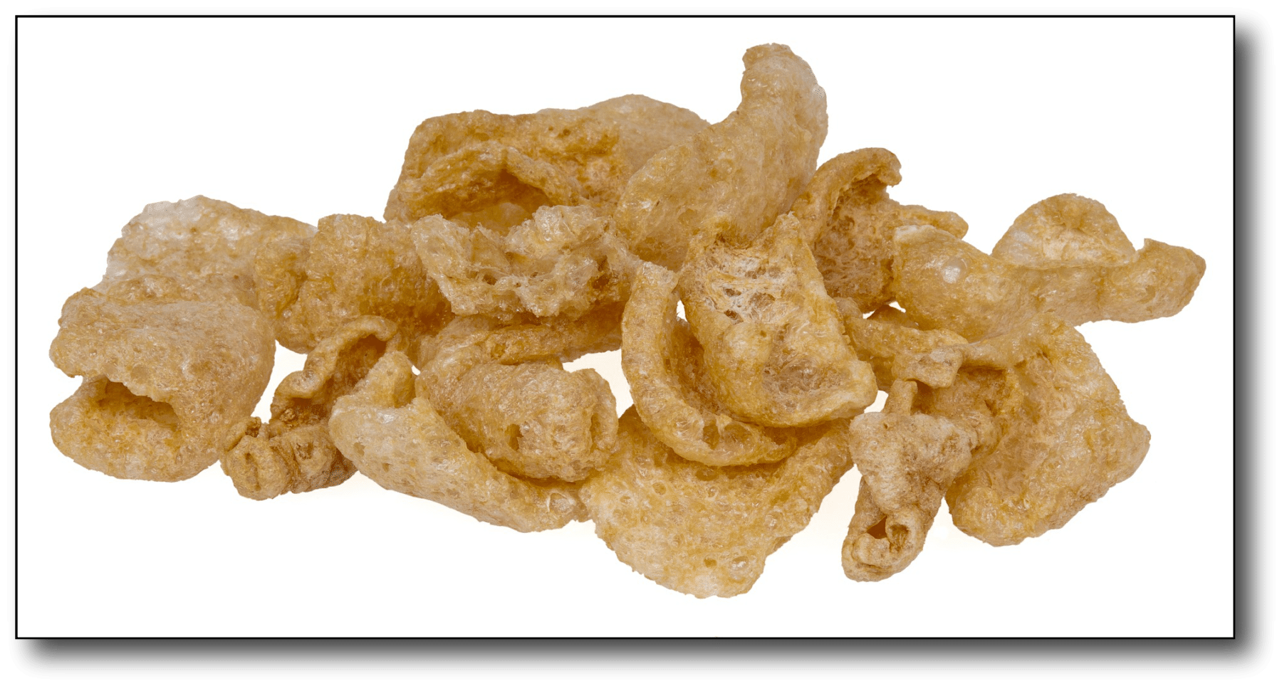losing weight after 50 - pork rinds
