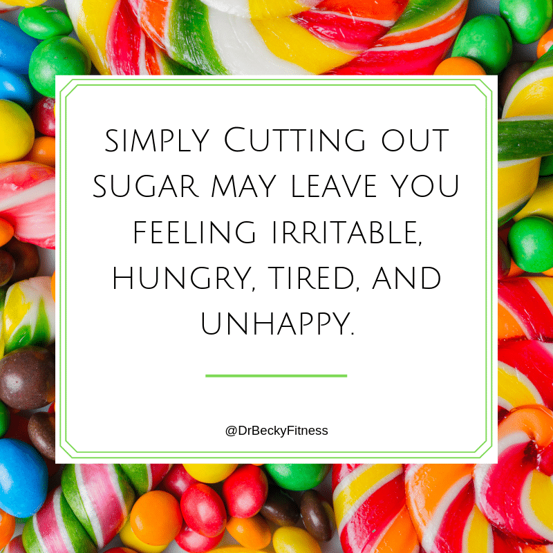3 Baby Steps to Quit Sugar and Lose Weight - Dr Becky Fitness