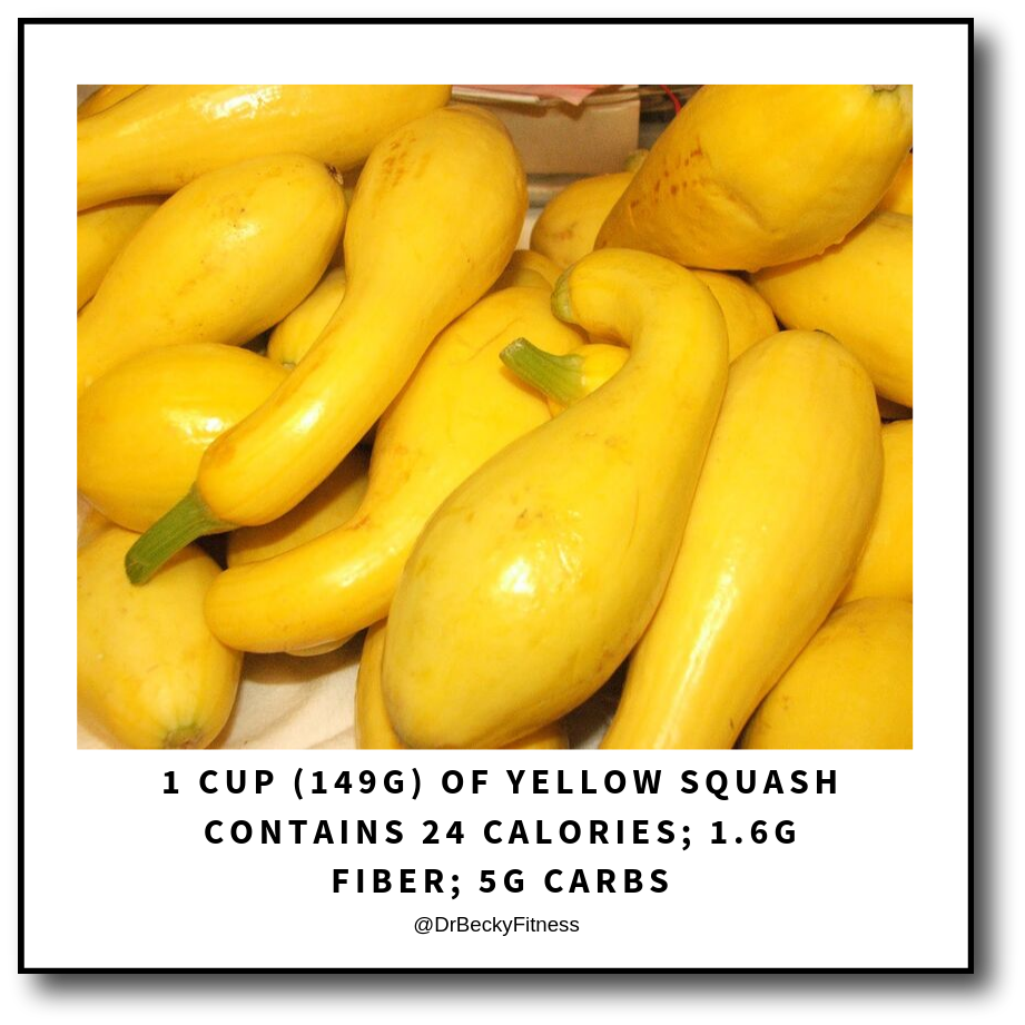 yellow or summer squash is low carb