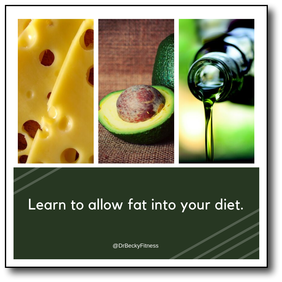allow fat into your diet over 60