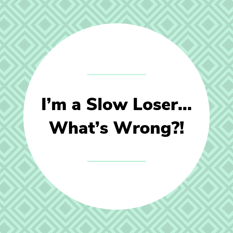 slow loser...what's wrong