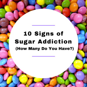 signs of sugar addiction