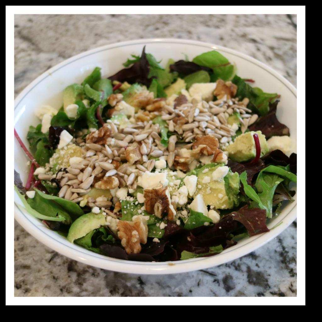 500-calorie salad