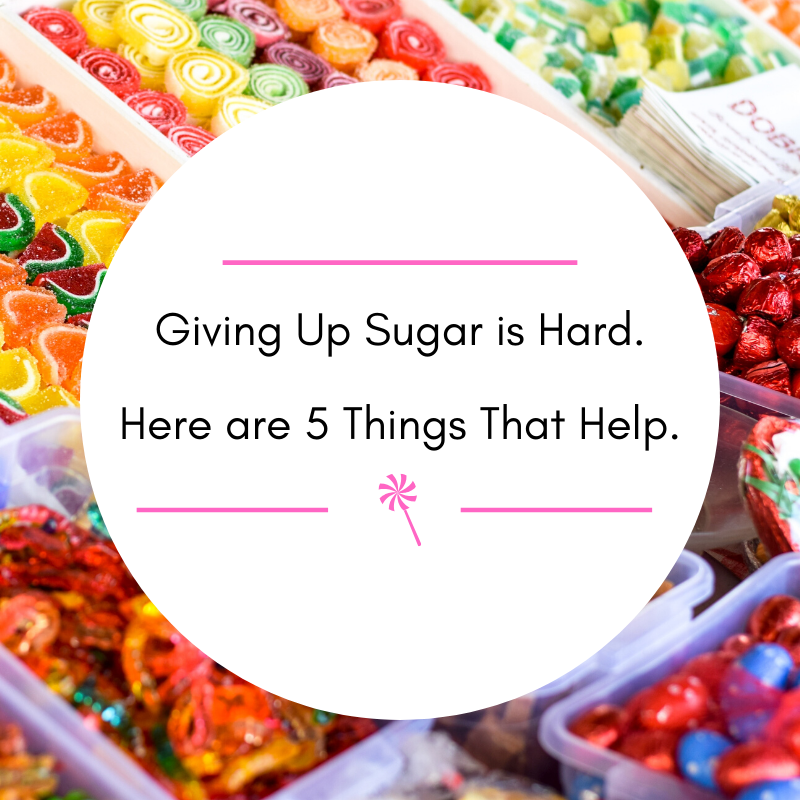 giving up sugar is hard