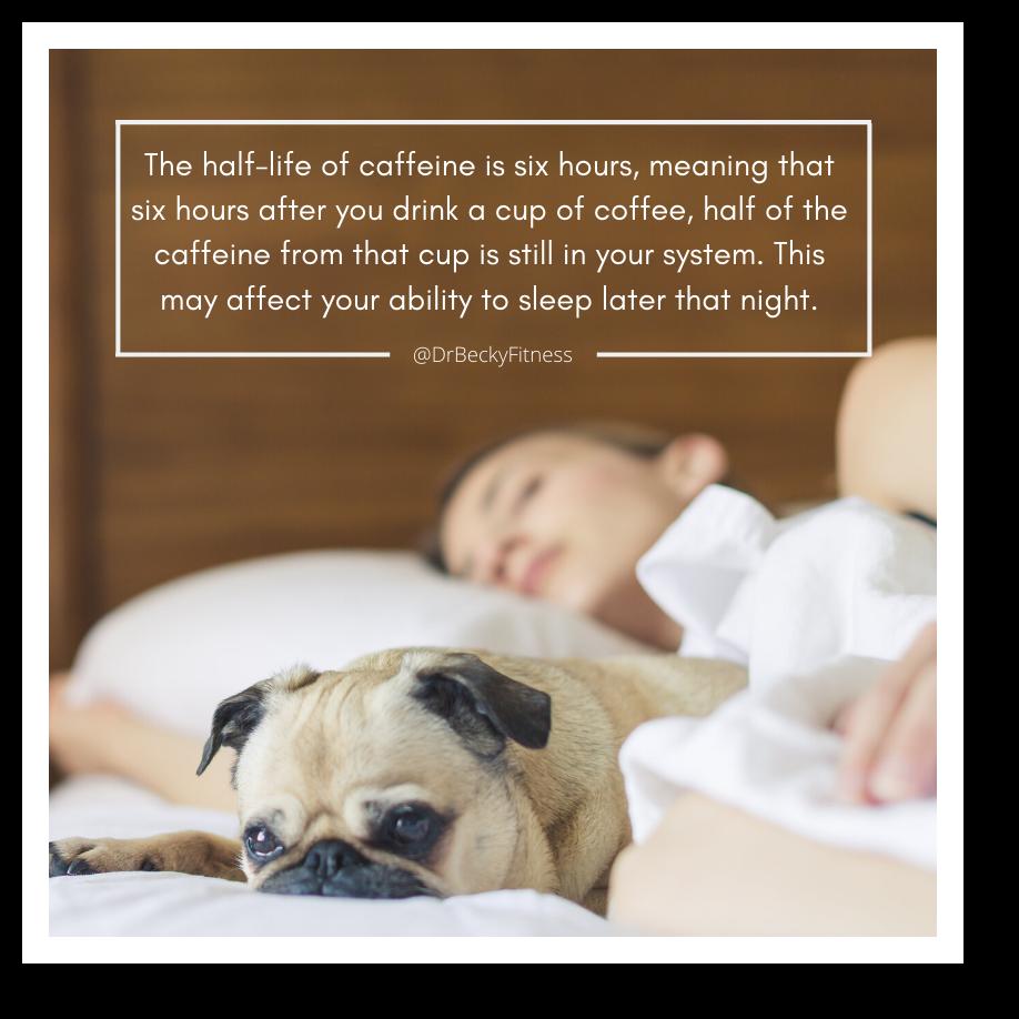 coffee and interrupted sleep